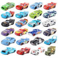 Disney-coches Pixar Cars 2 y 3 y 39 estilos, Mini McQueen Storm 1:55, coche de juguete de Metal fundido a presión, nueva marca en Stock