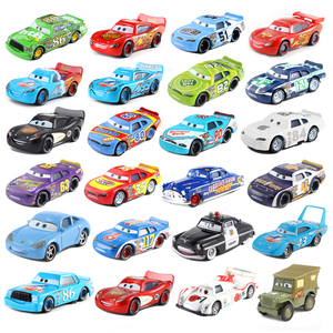 Cars Disney Pixar Cars 2 And Cars 3 39 Styles Mini McQueen Storm 1:55 Loose Diecast Metal Brand New In Stock Alloy Model Toy Car
