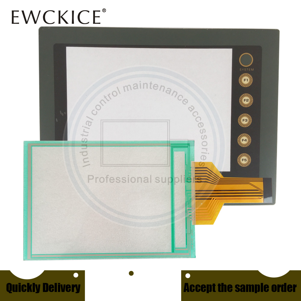 Nouveau UG221H-TC4 UG221H-SC4 HMI PLC écran tactile et panneau tactile avant étiquette et étiquette frontale