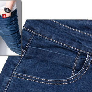 Image 5 - Mens jeans trousers stretch large size large size 6XL 7XL 8XL 9XL autumn classic casual jeans home 44 46 48 elastic