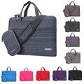 Bolsa de ombro laptop mulheres homens manga notebook saco de transporte saco do mensageiro da bolsa maleta para macbook/lenovo 11 13 14 15 polegada caso