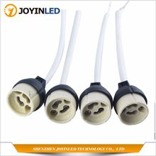 4PCS Socket Connector Adapter New GU10 Ceramic Halogen Lamp Holder Base Ceramic(China)