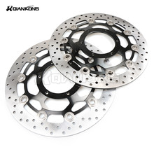 Free shipping Front Brake Rotors for HONDA CB1300 2003 2004 2005 2006 2007 2008 2009 2010  CBR600 2003 2004 2005 2006 цена и фото