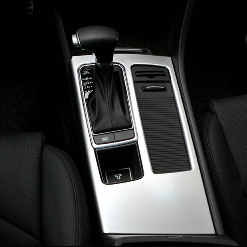2016 Kia Optima Interior: Car Gear Shift Box AT Panel Decoration Cover Trim For 2016