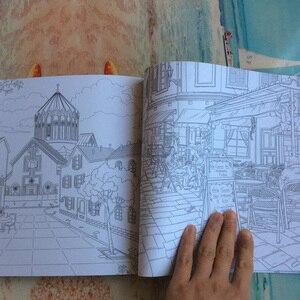 Image 5 - 48 صفحة رحلة الوقت كتب تلوين للكبار الأطفال الكتابة على الجدران رسم كتاب panting تخفيف الإجهاد ليبرو colorear