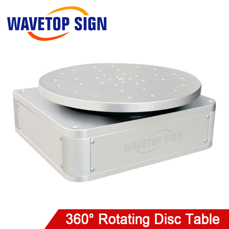 360 Degree Rotating Fixture Laser Marking Machine Round Table WT-D380 380x400x400mm