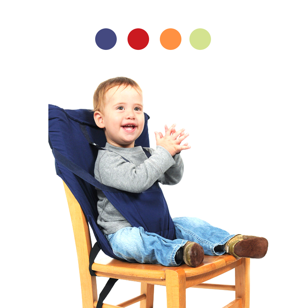 Travel Foldable Baby Dining Lunch Chair Portable Infant Feeding Seat Safety Belt Washable Baby Seats High Chair Harness 4 Colors in Booster Seats from Mother Kids
