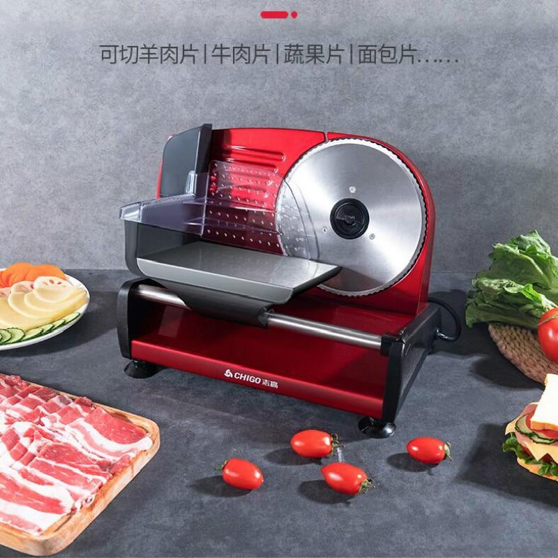 Household Vegetable And Fruit Slicer Manual Toast Bread Slicer Electric Small Meat Slicer Meat Planer