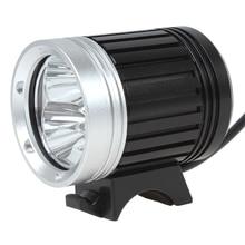цена на SecurityIng 3600Lm 3 x XM-L T6 LED Bike Light Headlamp & Bicycle Light with 4400mAh Battery Pack