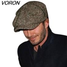 Fashion Octagonal Cap Newsboy Beret Hat Autumn And Winter Hats For Men's International Superstar Jason Statham Male Models