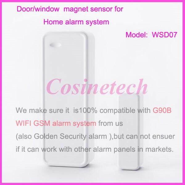 Two Way Door aliexpress : buy golden security wireless door magnet sensor