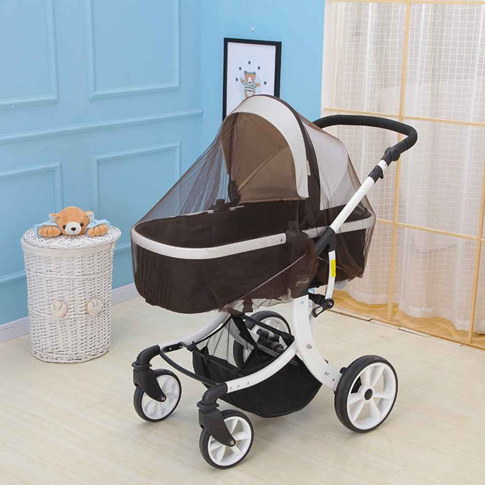 Newborn Toddler Infant Baby Stroller Crip Mosquito Insect Net Safe Mesh Buggy Crib Netting Pushchair Mosquito Net Full Cover Net