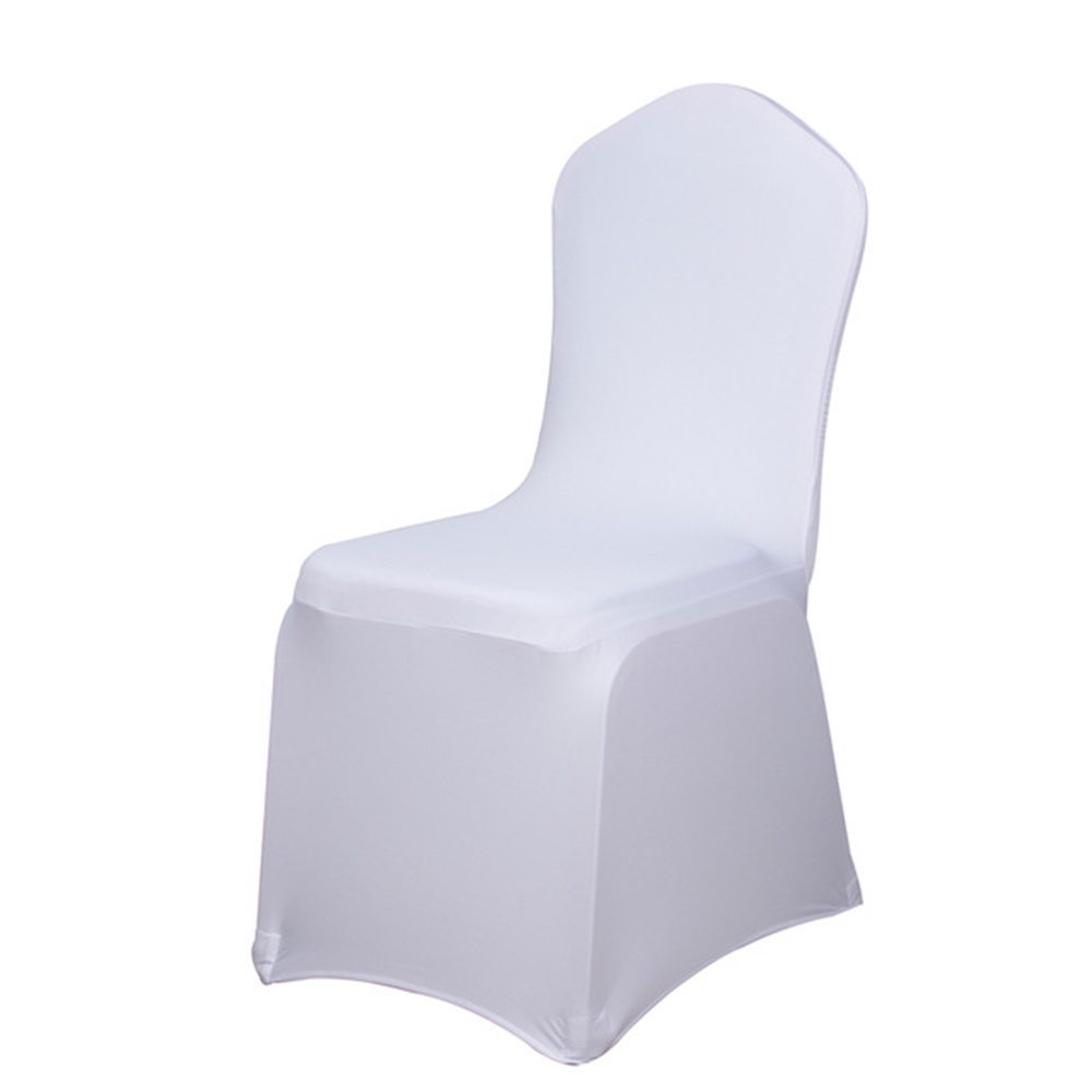 Marvelous Us 246 4 12 Off Universal Stretch Chair Cover 100Pcs Wholesale Wedding Chair Covers Multi Color Spandex Elastic Lycra Hotel Banquet Party In Chair Pabps2019 Chair Design Images Pabps2019Com
