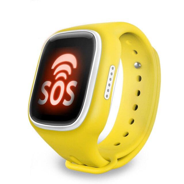 GPS трекер smart watch для безопасности Детей с wi-fi SOS Аварийного ребенок анти-потерянный монитор наручные часы для смартфонов Android IOS