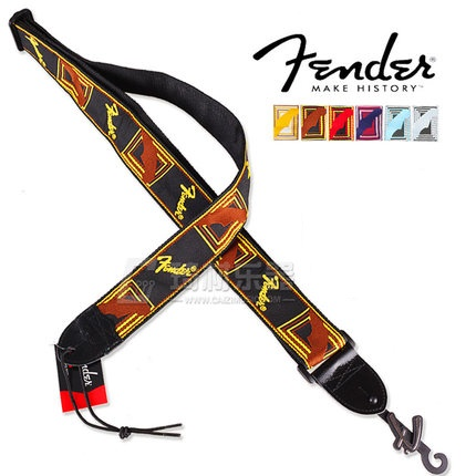 Fender Guitar Strap >> Us 18 99 Fender 2 Inch Monogrammed Strap Electric Guitar Strap With 5 Colors In Guitar Parts Accessories From Sports Entertainment On