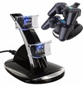 DUAL USB Charger Docking Station Charging Stand For PS3 Controller PLANE DESIGN