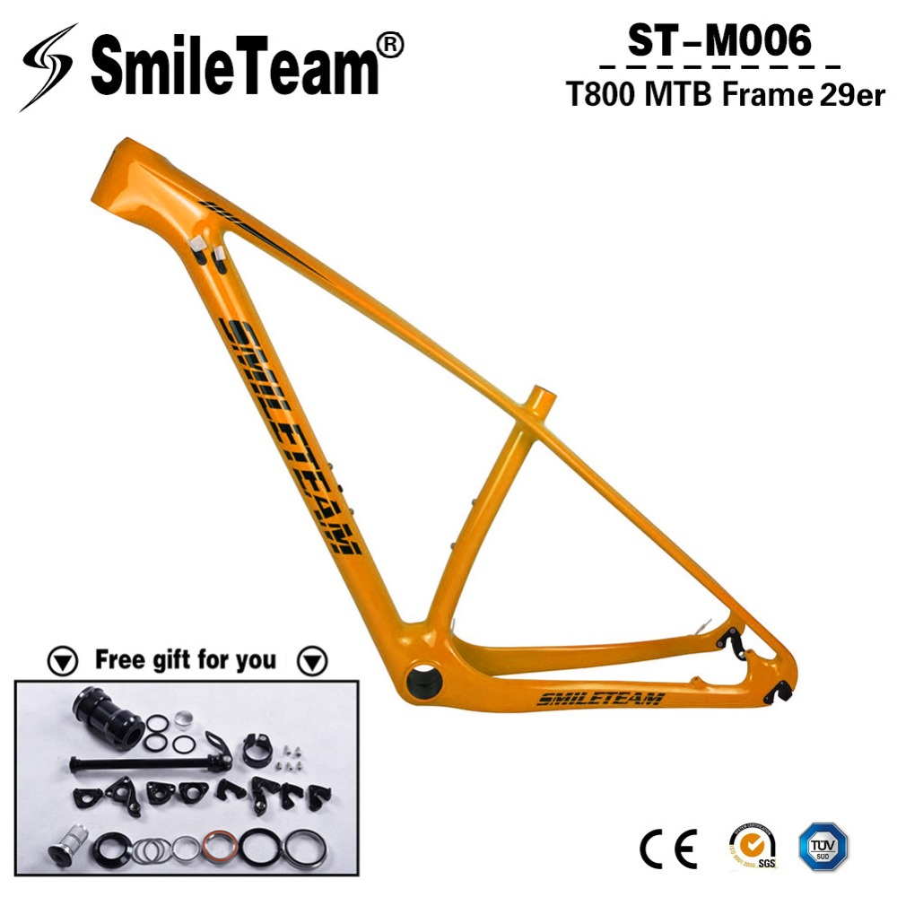 2018 New Color Carbon MTB Frames,29er Full Carbon Mountain Bicycle Frames, 650B/27.5er MTB Carbon Frames Thru Axle 142x12mm 2018 anima 27 5 carbon mountain bike with slx aluminium wheels 33 speed hydraulic disc brake 650b mtb bicycle