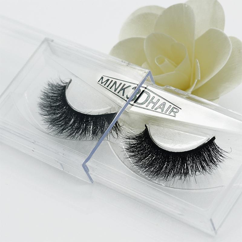 US $3 99  3DA09 1 Pair Handmade False Eyelashes and Super Long Messy Nature  Paragraph Eyelashes Beauty Makeup Mink Eyelashes-in False Eyelashes from