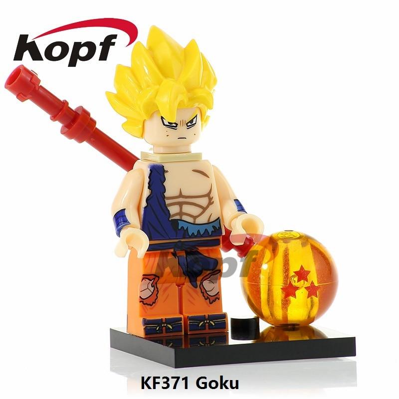 Single Sale Dragon Ball Z Figures Super Heroes Majin Buu Goku Bulma Majin  Buu Building Blocks Learning Toys for children KF375 3f4a8fc8f893
