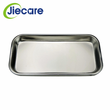 1PC Dental Stainless Steel Medical Tray Square Plate Oral Care Dentist Materials Plates for Teeth Dental Laboratory Equipment