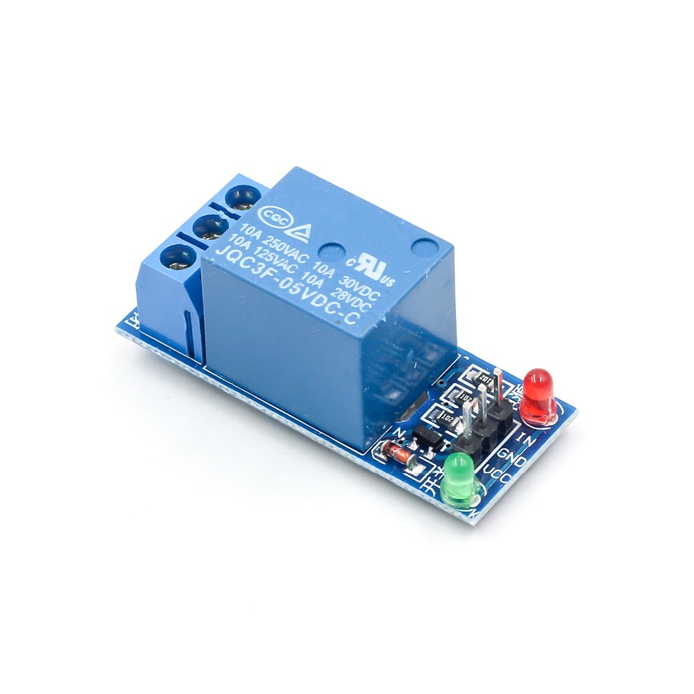 1pcs 5v Low Level Trigger One 1 Channel Relay Module Interface Board Pic16f84 Circuit For Lcd Nokia Shield Pic Avr Dsp Arm Mcu Arduino In Integrated Circuits From Electronic