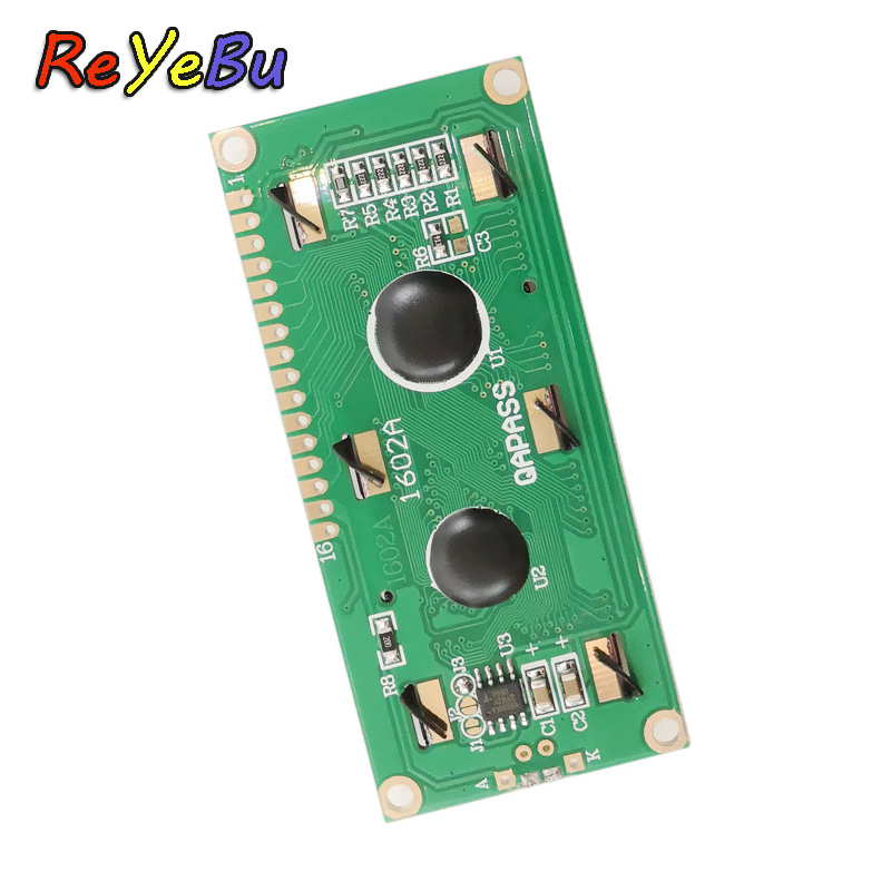 10pcs/lot 3.3V Blue Screen White Character LCD Module Blue Backlight Screen LCD 1602 Display For Electronic DIY LD002