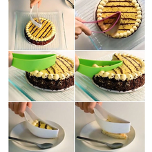 1 Pcs DIY New Practical Stainless Cake Pie Slicer Cutters Cookie Fondant Dessert Tools Kitchen Gadget One-piece Cutting Knife