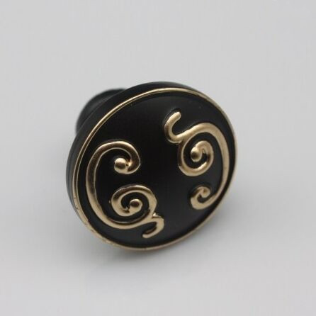 Drawer knob pull handle black kitchen cabinet pull black gold dresser cupboard furniture decoration hardware handle knob 32mm