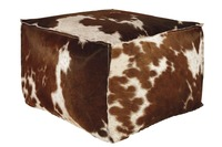 Высококачественная коричневая шерсть коровы из воловьей кожи