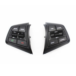 Image 2 - PUFEITE Für Hyundai ix25 (creta) 1,6 L 2,0 L Lenkrad Tempomat Tasten Remote Volumen taste schalter auto zubehör