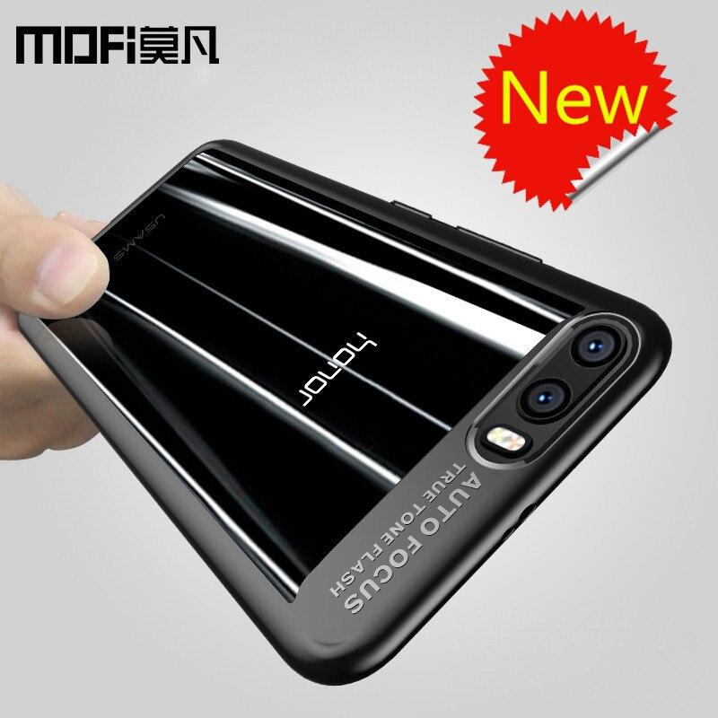 Huawei honor 9 fall ursprüngliche PC + silikon transparent zurück abdeckung Huawei honor9 phone cases harte capas MOFi ehre 9 fall abdeckung