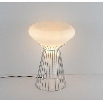 Modern Italian Design Table Lamp Light Simple LED Tafellamp Bedside Desk Lamp For Bedroom Living Room Kids Reading Table Lights