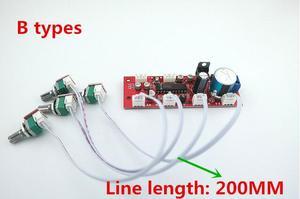 Image 3 - لوحة ألوان LM1036 مع ثلاثة أضعاف ضبط مستوى الصوت قبل مكبر للصوت لهجة المجلس