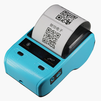 Portable Mini 80mm Bluetooth 2.0 Android POS Receipt Thermal Printer Bill Label Printer Machine For Supermarket Restaurant