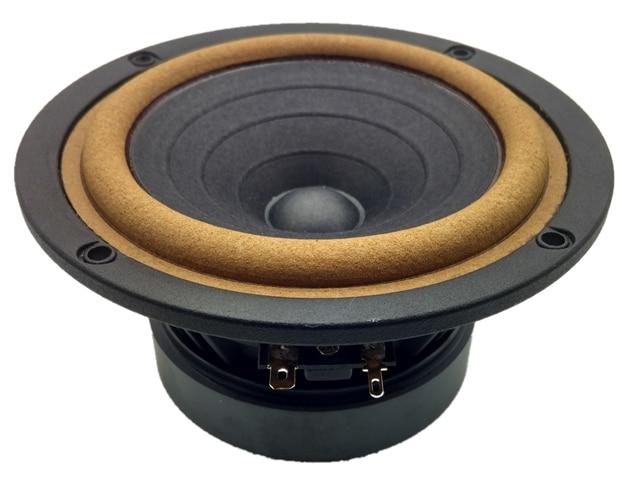 1PCS 5F-1 Aucharm 5 Inch HIFI Rhyme Rhyme Full Frequency Speaker 610 Leather Edge Paper Basin