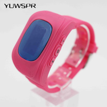 2018 New GPS Tracker Watch For Kids SOS Emergency Anti Lost Bracelet Wristband Wearable Devices LCD screen Smartphone App Q50