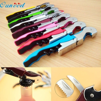 Beer Cap Bottle Opener Stainless Steel Cork Screw Corkscrew MultiFunction Wine Bottle Cap Opener Kitchen Bar Tools Accessories