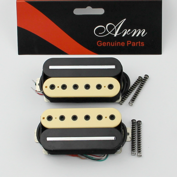 Genuine black and yellow electric guitar pickups single CHB-5 South free shipping new electric guitar double coil pickup chb 5 can cut single art 46
