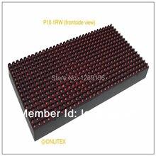 P10 1r 32 16 высокая производительность на открытом воздухе красный цвет из светодиодов модуль p10