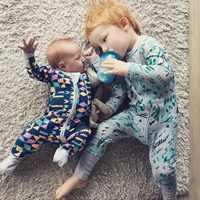 Outono 2019 bebê menino roupas macacão algodão roupas de bebê uma peça macacão roupas da menina da criança infantil pijamas do bebê sr101