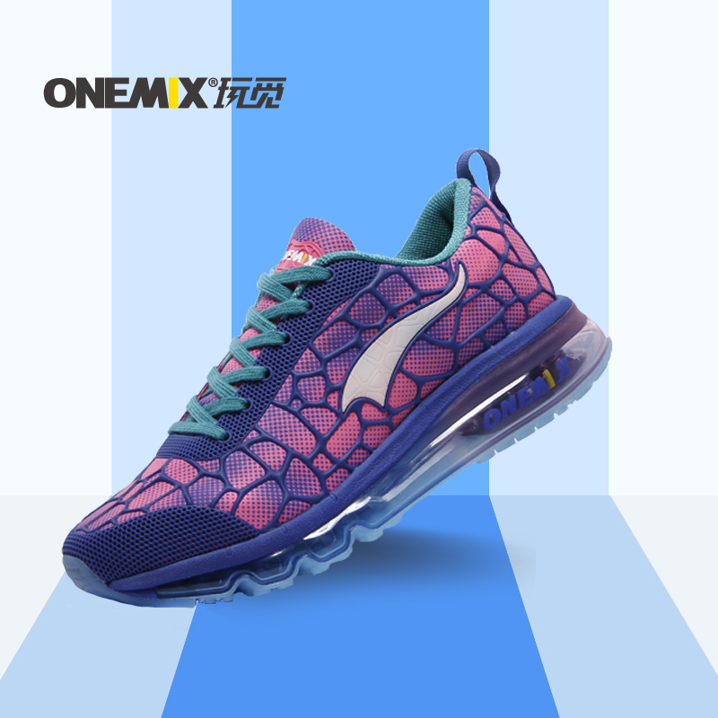 ФОТО Hotsale ONEMIX 2016 cushion sneaker original zapatos de mujer women athletic outdoor sport shoes female running shoes size 36-40