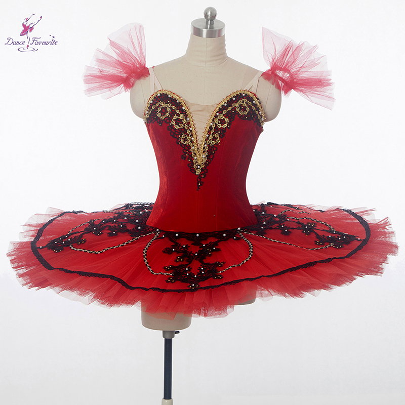 New arrival Customer size made red ballet costume tutu professional dance costume ballerina tutu girl women ballet costume tutu
