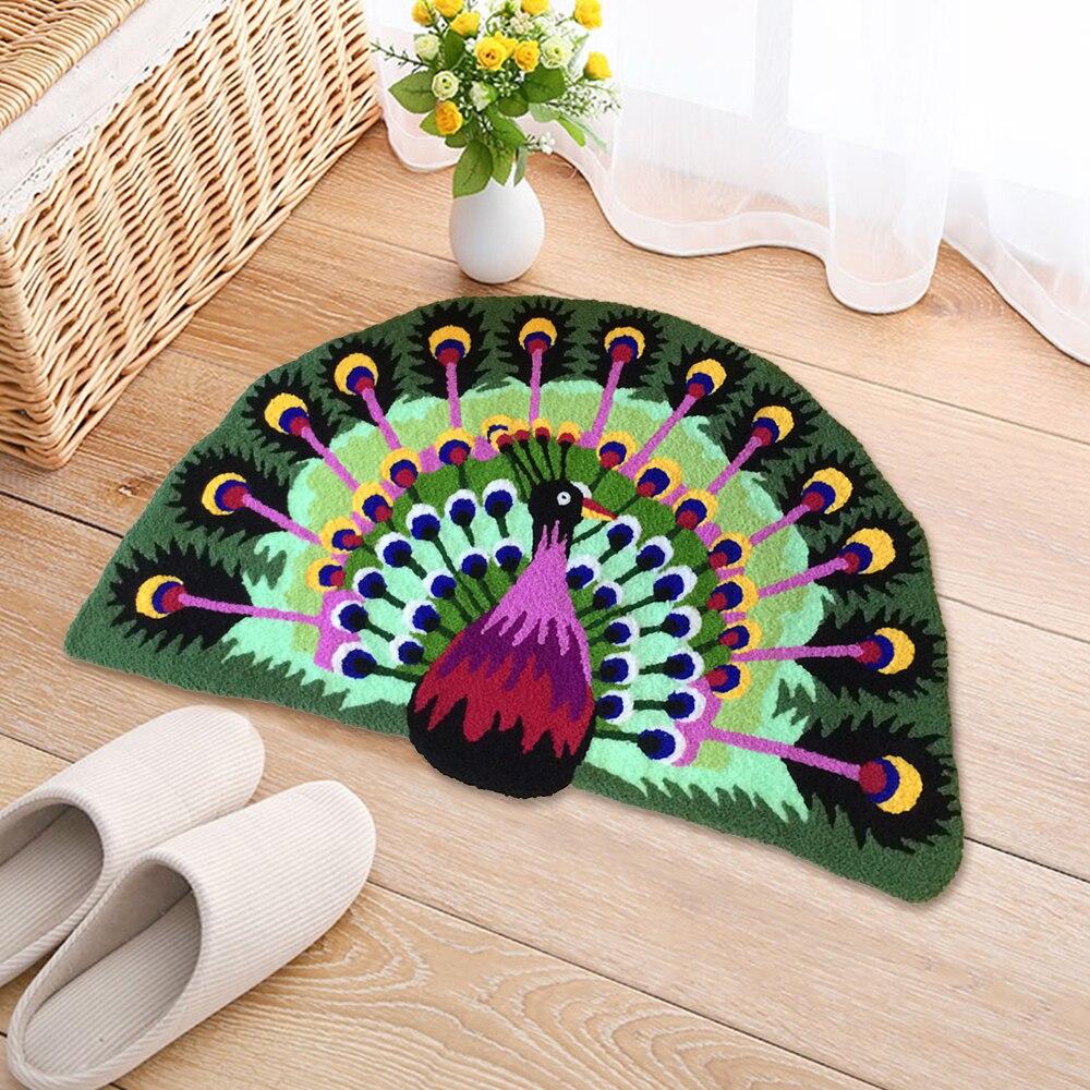 Machine créative lavage paillasson tapis 3D animal de compagnie Design tapis anti-dérapant paillasson tapis de sol coureur Kid chambre chevet tapis