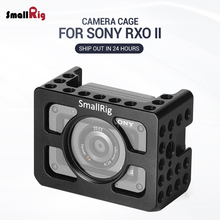 SmallRig RX0 II Vlogging Cage for Sony Action Camera Feature w/ 1/4 Thread Holes For Handle Magic Arm DIY attach 2344