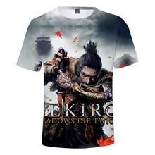 3d troye sekiro sombra morrer duas vezes impresso camiseta das mulheres dos homens casual harajuku tshirt t camisa venda quente de manga curta camisetas