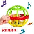 Кэндис го! новые прибытия яркие цвета детские схватив мяч мягкий ding-данг мяч погремушка подарок 1 шт.