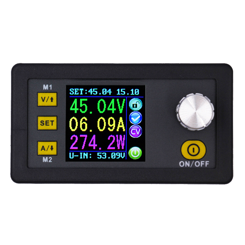 DPS3012 DC30V/12A voltmeter Constant Voltage current Step-down Programmable control Power Supply module buck Voltage converter7% maitech dc dc step down constant voltage constant current module yellow