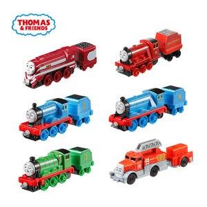 Image 2 - Jouets de voiture pour enfants, en métal moulé, Thomas et ses amis Gator James moteur Gordon Henry Belle, Mini Trains, accessoires classiques