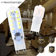 LED Lamp Mini G9 Corn Bulb SMD 2835 Lampada Led 220V Candle Light 3W 5W Bombillas Led g9 Spotlight Chandelier 14 22leds Ampoule