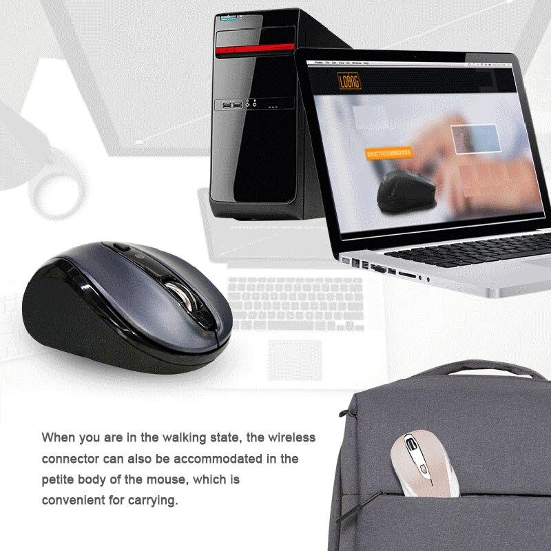 Sans fil Voix Souris souris sans fil Support Voice Home Office Multilingue Contrôle Taper Recherche LCC77